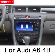 For Audi A6 4B 4F 1998~2006 MMI Navigation Multimedia Player IPS Android Car DVD GPS HD Touch Screen Stereo Radio WiFi System цена