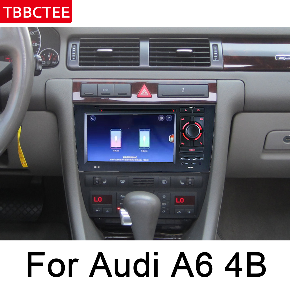 For <font><b>Audi</b></font> <font><b>A6</b></font> 4B 4F 1998~2006 MMI Navigation Multimedia Player IPS <font><b>Android</b></font> Car DVD GPS HD Touch Screen Stereo Radio WiFi System image
