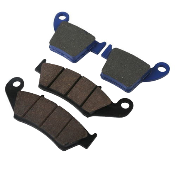 Motorcycle Sintered Front & Rear Brake Pads For HONDA CR 250 CRE 250 / CRE F250 X / R 2002 CR250 CRE250 Motorbike motorcycle front and rear brake pads for yamaha street bikes tdm 900 tdm900 2002 2010 sintered brake disc pad