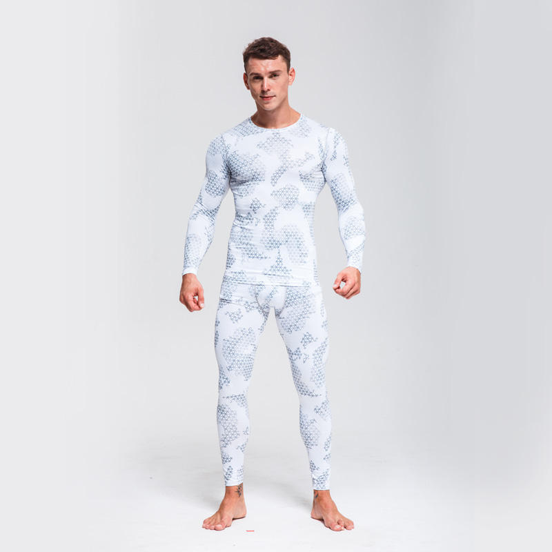 Men's Ski Underwear Set >>  Jogger Set Men >> Track Suit Gym Man>> Compression Clothing Running Suit>> Camouflage Tracksuit Men