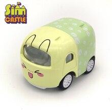 1 Pcs Original Cute Cartoon Animal Mini Model Car 1:43 Diecast Vehicle Metal Alloy Kids Toys Girls Birthday Gifts Oyuncak Araba original 1 pcs ifrp 532nf 9273ecpsu
