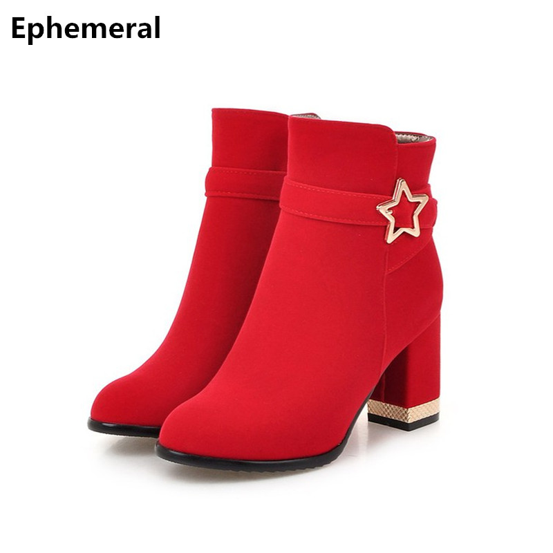 Aliexpresscom  Buy Female Boots Sexy Thick Heel High -1625