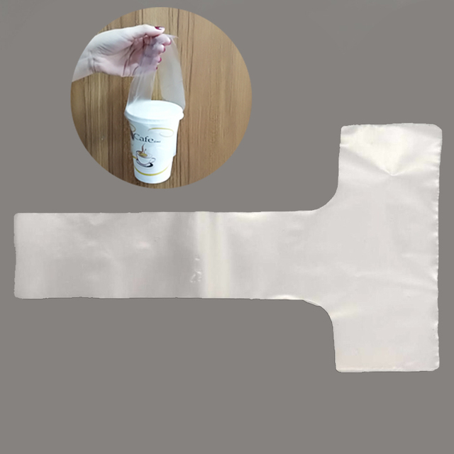 High Grade Milk Tea Bag Cup Of Plastic Bags Portable Environmental Protection T Thick