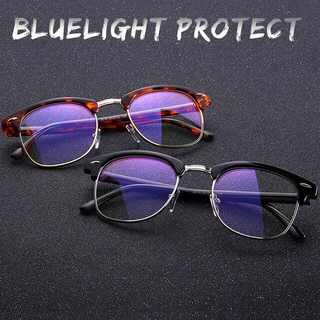 Óculos de computador Óculos de Armação Anti Blue Ray óculos Das Mulheres  Dos Homens Anti Luz b1f3111818