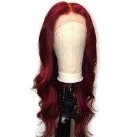 Eversilky 99j парик 13x6 \ 13x3 Синтетические волосы на кружеве человеческих волос парики для Для женщин 360 Синтетические волосы на кружеве al парик бра