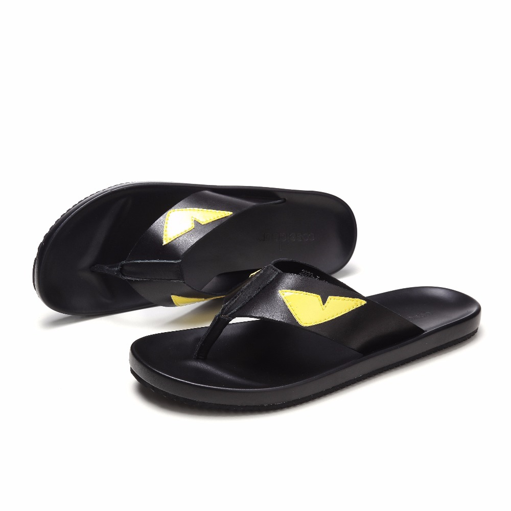 Fashion Monster Flip flops for men Summer Hot Beach Sandals Big Size euro 38 46 - 3