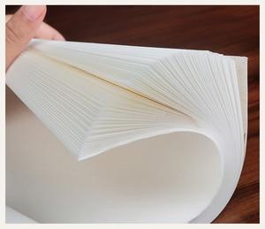 Image 5 - 100 ورقة شوان التقليدية الصينية شبه الخام الأرز ورقة اللوحة لوازم الخط