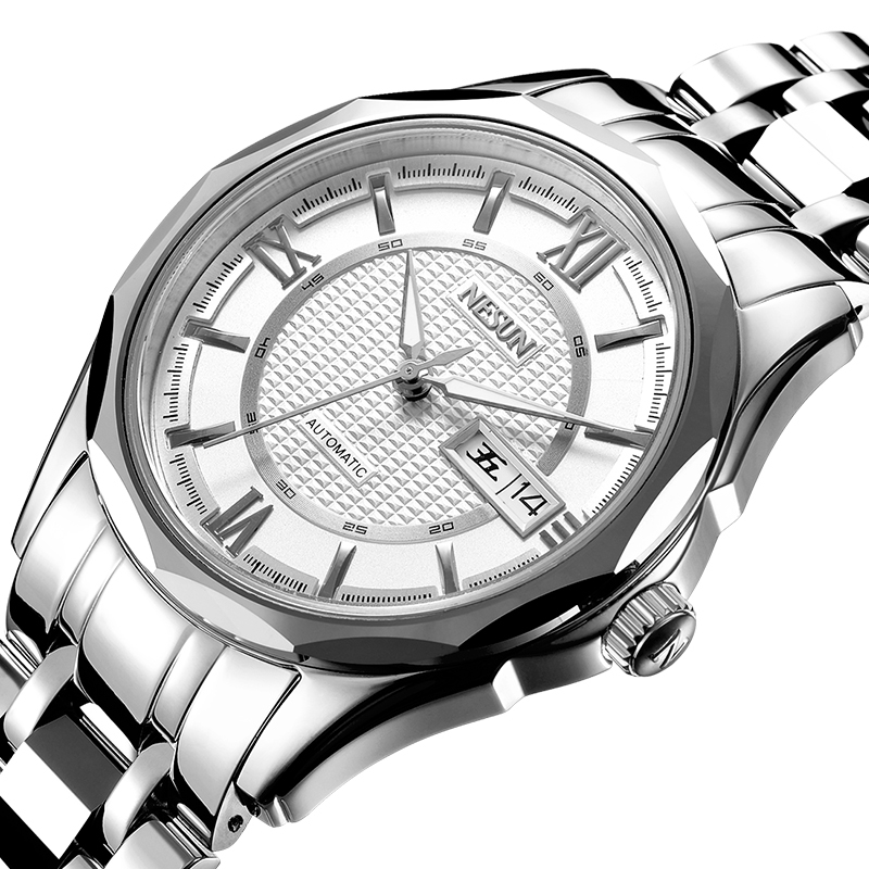 Nesun Japan NH36A Automatic Movement Switzerland Watch Men Luxury Brand Men's Watches Sapphire relogio masculino N9212-4