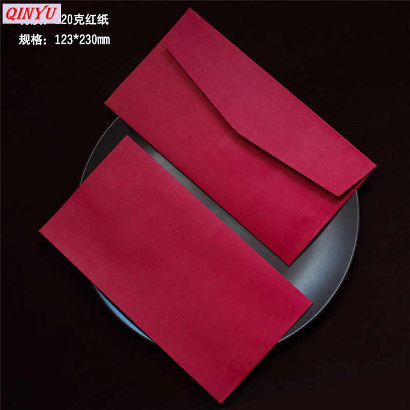 10pcs Retro Design Colored Blank Paper Envelopes Wedding Party