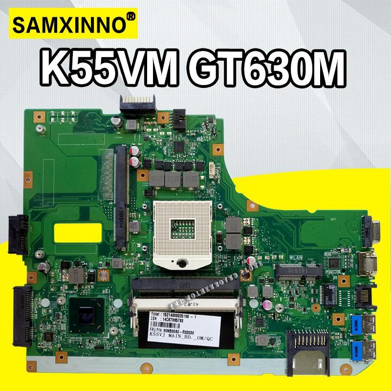 K55VM Motherboard GT630M-REV:2.0/2.2 For ASUS A55V K55V K55VM laptop Motherboard K55VM Mainboard K55VM Motherboard test OKK55VM Motherboard GT630M-REV:2.0/2.2 For ASUS A55V K55V K55VM laptop Motherboard K55VM Mainboard K55VM Motherboard test OK