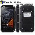 IP68 A8/A9 водонепроницаемый телефон ip67unlocked MTK6582 Quad core Android4.4 GPS 2 Г 16 Г NFC Мобильный Телефон Пыле ударопрочный мобильный телефон