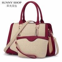 SUNNY SHOP Luxury Handbags Women Bags Designer Shoulder Bag Famous Brand Purses And Handbags High Quality