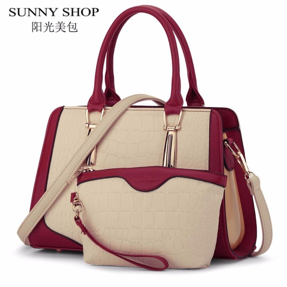 SUNNY SHOP luxury handbags women bags designer Shoulder Bag famous brand purses and handbags High Quality Women Messenger Bags