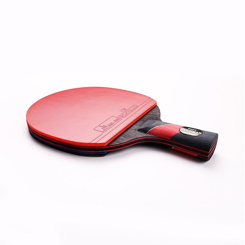 Raqueta de tenis de mesa de murciélago de carbono de alta calidad - Raquetas de deportes - foto 3