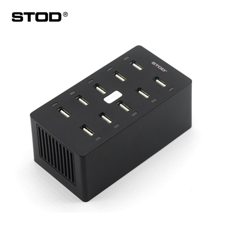 STOD Multi Port USB Charger 50W LED թեթև լիցքավորման - Բջջային հեռախոսի պարագաներ և պահեստամասեր - Լուսանկար 1