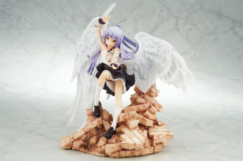 20cm Angel Beats Action Figure PVC Collection Model toys juguetes brinquedos for christmas gift free shipping brand new animals action figure toys mother wild horse 12cm length pvc figure model toy for gift collection kids school study