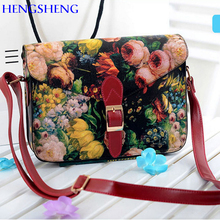 HENGSHENG Fashion women crossbody bag with high quality pu leather women messengers bag of cheap ladies shoulder bags