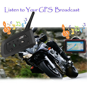Image 5 - 2020 รุ่นV6 1200M 6 Riders BT Multi Interphone Bluetooth Intercomชุดหูฟังไร้สายหูฟังชุดหูฟัง