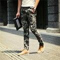 2016 nova calças Harlan calças de camuflagem casuais calças compridas dos homens calças casuais calças dos homens auto-cultivo