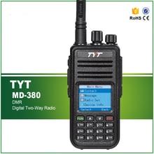 Nieuwste Dmr Transceiver Tyt MD 380 Uhf Radio 1000 Chs 5W Rf Power Met Programmering Kabel En Software