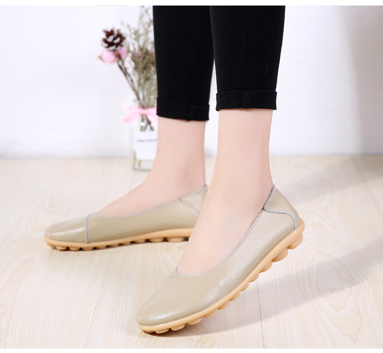 AH 5928-2019 Spring Autumn Woman Flats Casual Women Loafers-11
