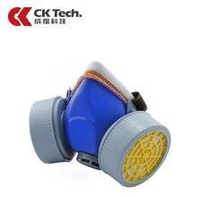 CK Tech Chemical Respirator Poison Protection Formaldehyde Spuitmasker Anti-Dust Filter Paint Spraying Cartridge Gas Mask 1006