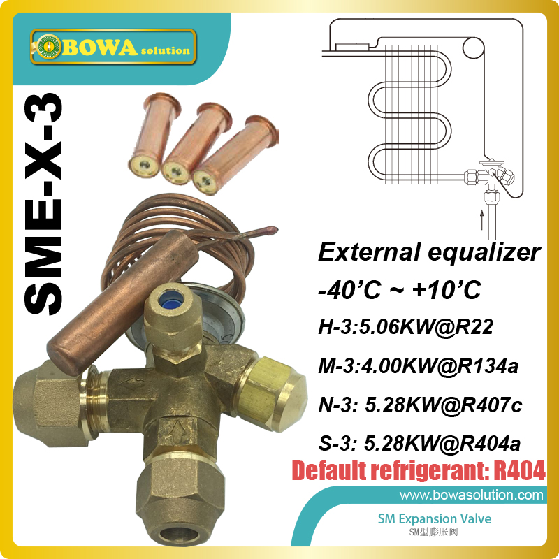 SME-3 Interchangeable expansion valves is equally applicable to freezing, refrigeration and air conditioning applications. nrf 6 thermal expansion valve tev or txv is preferred over other refrigeration metering devices and replace danfoss tg valves