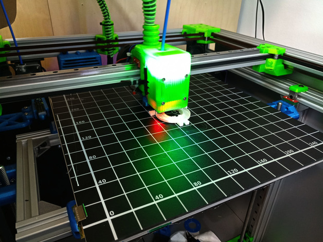 Funssor BLV mgn Cube Frame extrusion MGN Rails For DIY Anet E12 300x300 heated bed