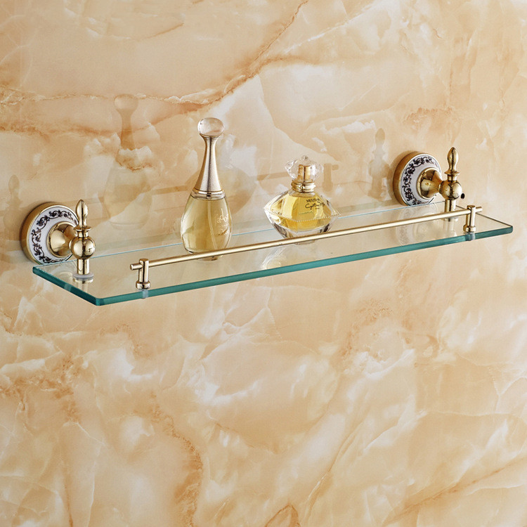 white porcelain bathroom shelf | My Web Value