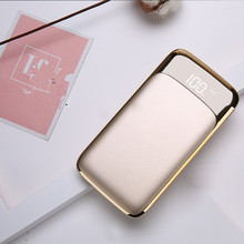Dual USB LED Power Bank quick charge 20000mah
