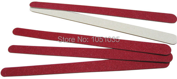 500 pcs lot wooden emery board sandpaper file nail art file manicure tool 180 240 free