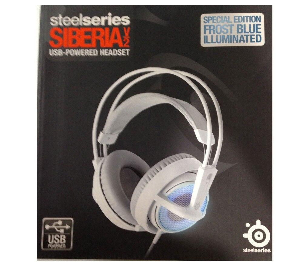 SteelSeries Siberia v2 Frost Blue Headset Windows