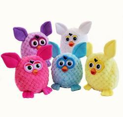 Boom de 15 centímetros animais de Estimação Eletrônicos Furbiness Falando Interativo Phoebe Gravação Coruja Animais de Estimação Eletrônicos Brinquedos de Presente de Natal Das Crianças