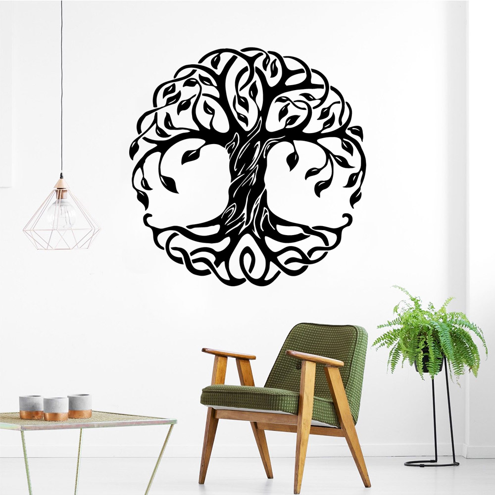Removable tree Home Decorations Pvc Decal For Kids Rooms Nursery Room Decor Vinyl Art Decals in Wall Stickers from Home Garden