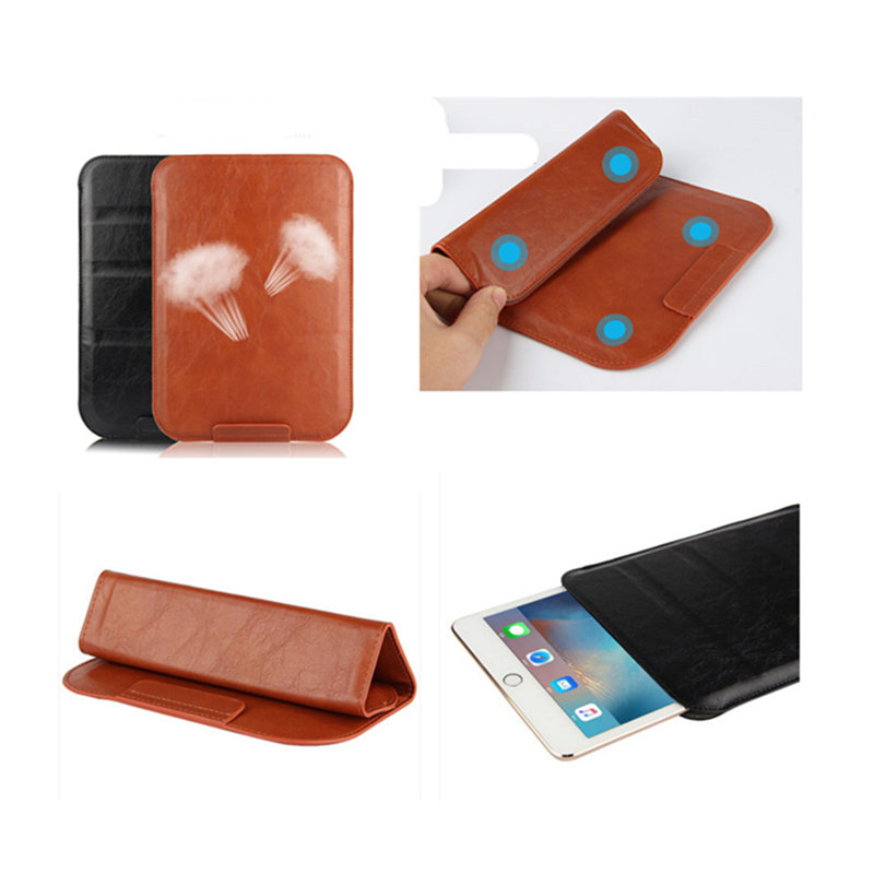 PU Leather sleeve slim cover Pouch Bag Sleeve Bag Case For ipad Air 1 2 9.7 2017 For New iPad 9.7 inch 2018 A1954 A1893 Tablet