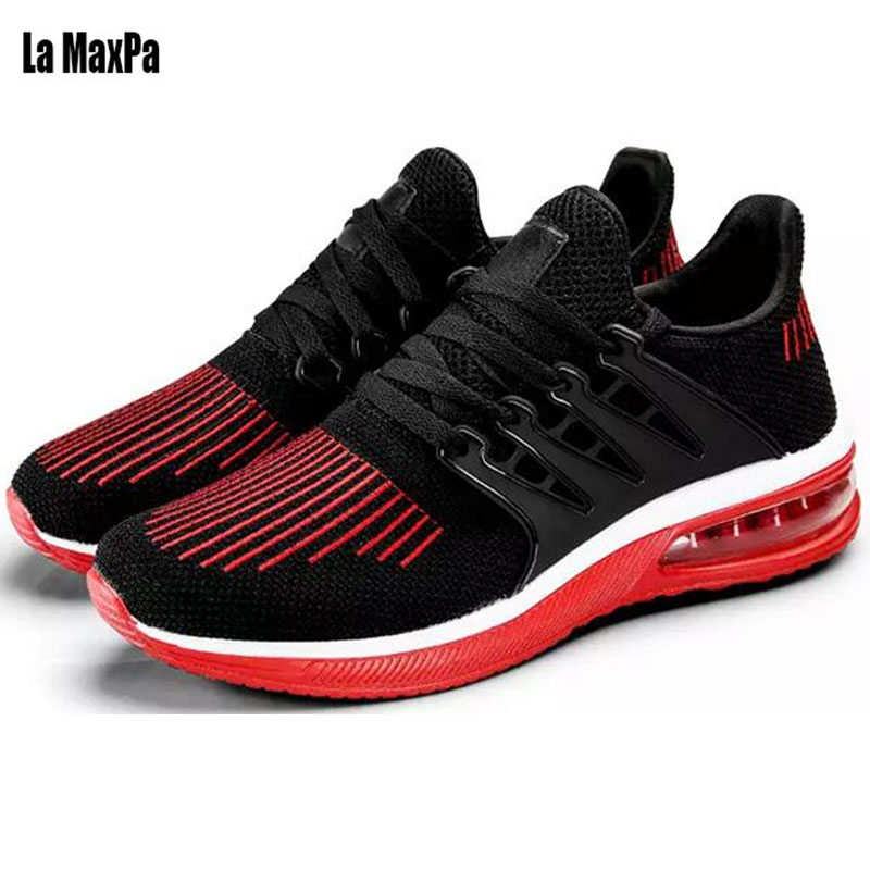 Sneakers Men 2018 Summer Running Sport Shoes For Male breathable Mesh Black Mens Sneakers shose For Outdoor Walking shoe shoes summer running shoes mesh men walking camping shoes outdoor sport breathable running shoes