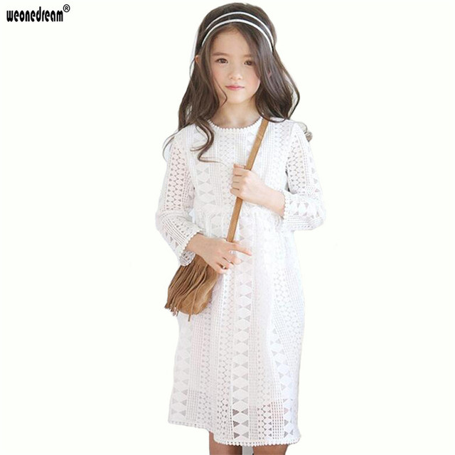 ebf093756 WEONEDREAM Baby Girl Dress Autumn Winter 2018 Children Clothing Girls  Beautiful Princess Dress Teenager Kids Dresses for Girls