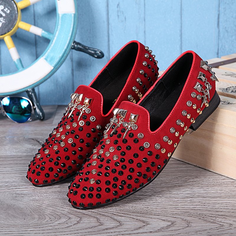 Shoe type slippers for mens