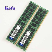 2×8 ГБ PC3-12800R DDR3 1600 мГц Памяти ECC REG Registered 240-контактный 2RX4 БАРАНА памяти сервера