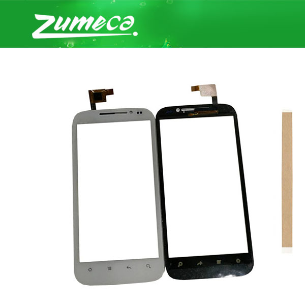 High Quality For <font><b>DNS</b></font> S4501m <font><b>S4501</b></font> Touch Screen Digitizer Touch Panel Lens Glass Replacement Part With Tape Black White Color image