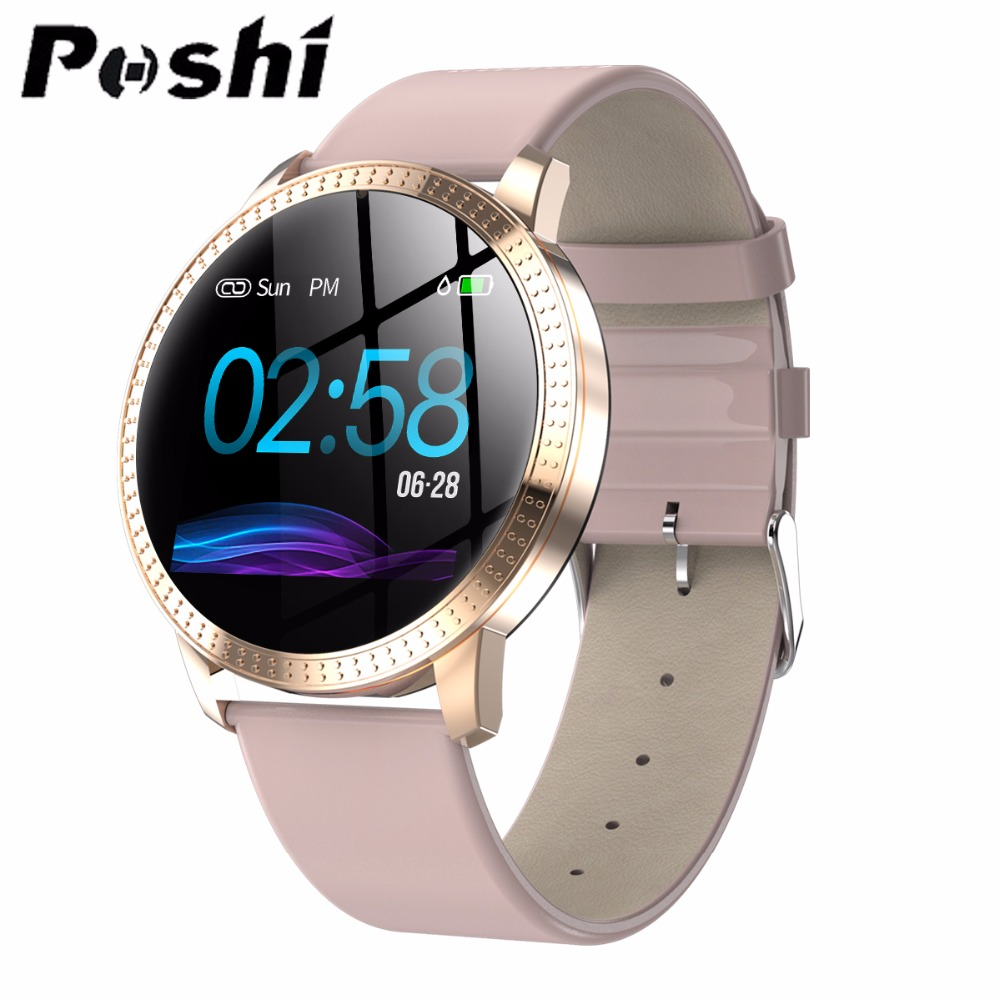 Smart Watch Series <font><b>OLED</b></font> Screen Push Message Bluetooth Connectivity Android IOS Men Women GPS Fitness Tracker Heart Rate Monitor image