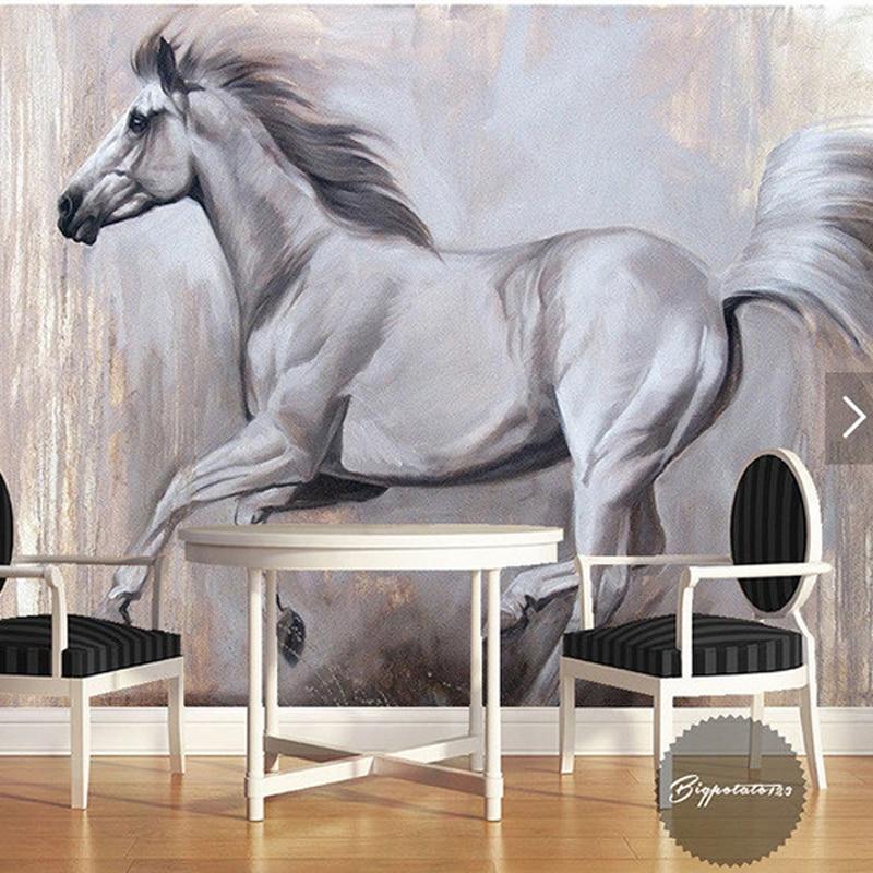 cheval papier peint achetez des lots petit prix cheval papier peint en provenance de. Black Bedroom Furniture Sets. Home Design Ideas