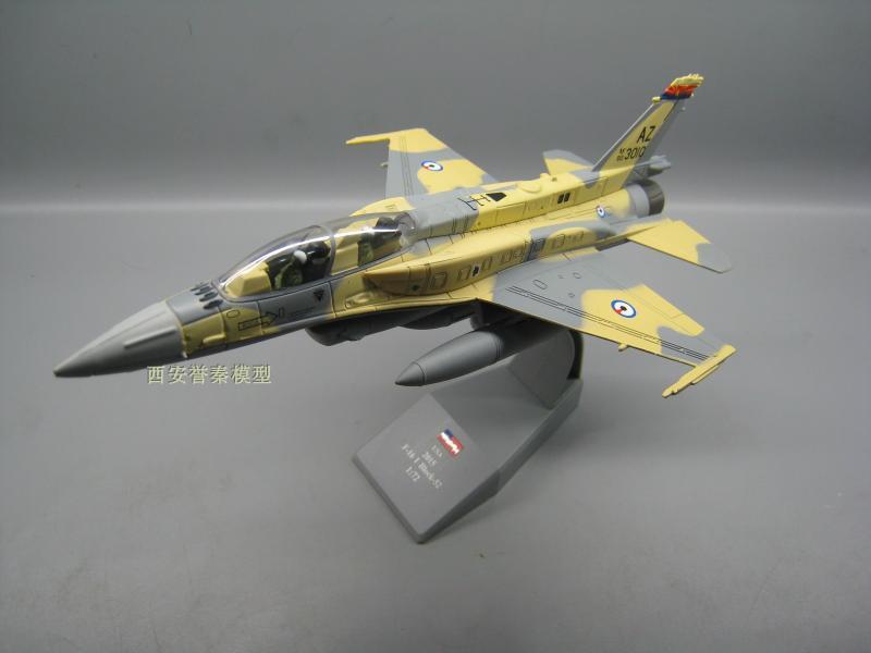 Амер 1/72 Весы модель самолета Игрушечные лошадки США f-16ef истребитель литье металла плоскости Модель игрушки для коллекции/подарок/украшени... ...