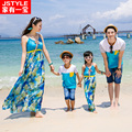 2016 Matching Mother Daughter Dresses Girl And Mother Chiffe Maxi Dress Mother Son Outfit Ma e Filha Family Matching Clothes
