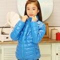 Дети хлопка мягкой одежды Новые Прибытия Детей Куртки Большие Мальчики Девушка моды Baby Дети толстые теплые Случайный Верхняя Одежда и пальто