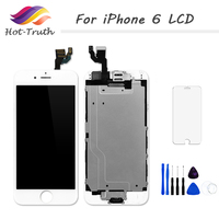 Hot Truth AAA For IPhone 6 6G LCD Display Touch Screen Digitizer Assembly With Front Camera