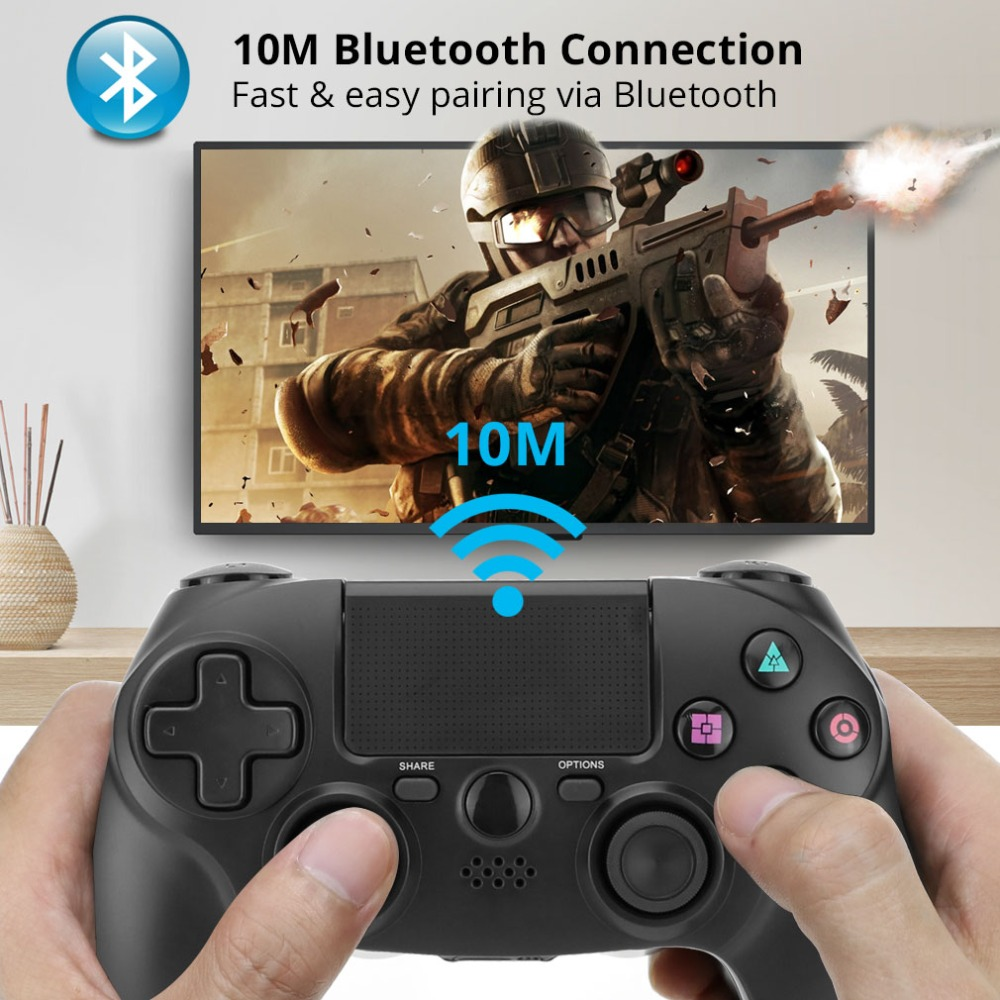 Bluetooth Wireless Joystick for PS4 Controller For PlayStation 4 Console For Sony Playstation 4 Dual Shock