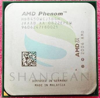 Livraison gratuite pour AMD Phenom X3 8450 Triple-Core De Bureau 2.1 GHz CPU HD8450WCJ3BGH Socket AM2 +/940pin