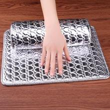 Professional Hand Cushion Holder Soft PU Leather Sponge Arm Rest Love Heart Design Nail Pillow Manicure Art Beauty Accessories