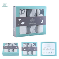 Hot And Beautiful Boxed 3pcs Lot 120 120 Meters Baby Infant Infant 100 Cotton Swaddle Towel